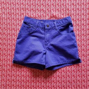 90's Purple No Boundaries Shorts- 3/4